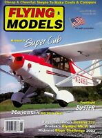 Vintage Flying Models Magazine June 2004 Hangar 9 Super Cub m320