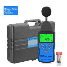 Digital Sound Level Meter Decibel Measurement Noise Tester Bar Graph 30130db