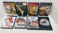 LOT OF (8) PS2 GAMES:Jak & Daxter,Thrillville,NHL 09,Constantine,Thunderstrike,&