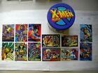 Wolverine 12 card lot and X-Men limited Tin 1992 Special lot Marvel masterpiece