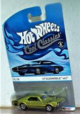 Hot Wheels Cool Classics '67 Oldsmobile 442 Classic 1967 OLDSMOBILE Color: Lime