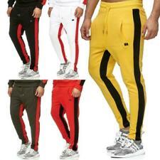 Pantaloni da uomo tinta unita sportivi