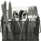 Utensil Caddy Silverware, Napkin Holder, and Condiment Organizer  Multi-Purpose