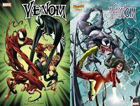 Marvel Comics 2020 Venom #24 Bagley Main + Rock-He Kim Spider Woman Var NM 3-11