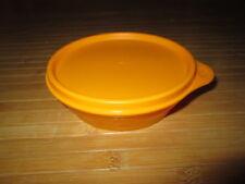 Boîte de conservation orange,marque Tupperware,NEUVE!