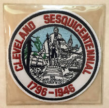 1946 Cleveland Indians Officiel MLB Baseball Throwback Patch Lost Treasures