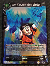 4x No Escape Son Goku TB3-065 C Dragon Ball Super TCG Near Mint