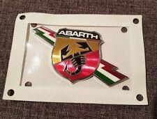 NEU! orig.FIAT 500 500C ABARTH 595 695 Biposto Emblem badge 100% ORIGINAL NEU!