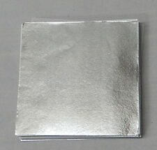 Silver Candy Foil Wrappers Confectionery Foil 125 count