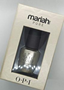 OPI Mariah Carey 18K Pure Gold and Silver Top Coat Nail Polish High Shine Gloss