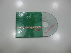 ANA TORROJA / MIGUEL BOSE CD SINGLE BENELUX DUENDE 2000 PROMO
