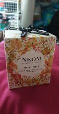 Neom Organics Happy Vibes Gift Set, Brand New Sealed In Box Body oil, Balm, Wash