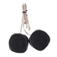 1X(2 x 97dB 500W Dome Tweeters Black for Car Audio System W1X9)