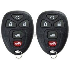 Fits 2007-2010 Pontiac G5 Keyless Entry Remote Car Key Fob 22733524 2x