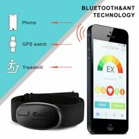 Heart Rate Sensor W/ Chest Strap - Sensor And Strap Included Bluetooth 4.0 ANT+