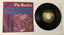 """RARE 7"""" APPLE EMI ITALY 1976 THE BEATLES I SHOULD HAVE KNOWN BETTER /TELL ME WHY"""