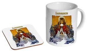 David Bowie Labyrinth Poster - Coffee / Tea Mug And Coaster Gift Set