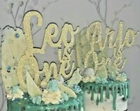 Customised Glitter Cake Topper birthday Any word Personalised name custom