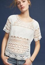 Anthropologie Marilyn Crocheted Top Size XS