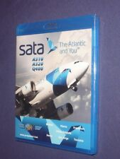JUST PLANES COCKPIT  VIDEO :       SATA  Azores     Blu-Ray     new & sealed