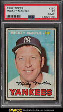 1967 Topps Mickey Mantle #150 PSA 1(mk) PR