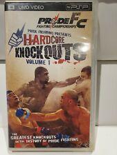 hardcore knockouts volume 1 umd