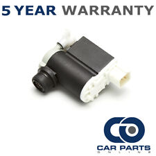 FOR HYUNDAI I30 (2007-2011) FRONT & REAR TWIN OUTLET WINDSCREEN WASHER PUMP