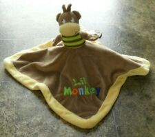 BABY GEAR Lovey Lil' Monkey one side/ King of the jungle Lion other side soft