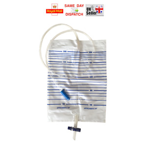 2000ml / 2ltr URINE COLLECTION DRAINAGE BAG STERILE KIT IRRIGATION COLONIC
