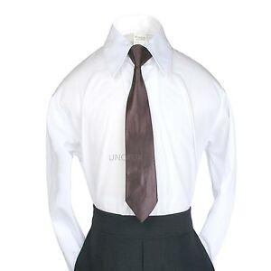 23 colors zipper Long Necktie Boys Baby Teens Formal Tuxedo Vest suits Size S-20