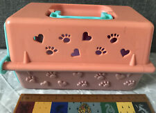 Simba-Toys Toy Pet Crate Carrier - Vintage