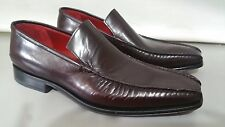 SCARPE CLASSICHE UOMO IL GERGO BORDEAUX N 45,5 UK 11,5 HAND MADE IN ITALY