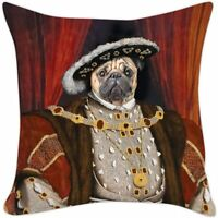 Archie McPhee Pillow Cover, Henry The Pug