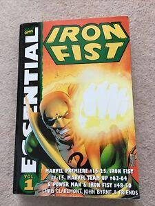 Essential Iron Fist Vol. 1 OOP TPB, Chris Claremont, John Byrne - 9780785115465