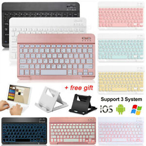 "Bluetooth Wireless Keyboard Keypad+Stand For iPad Air 4th Generation 10.9"" 2020"