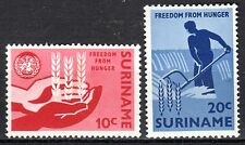 Suriname - 1963 Freedom from Hunger - Mi. 431-32 MNH
