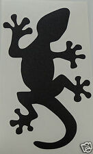 2 x Cool Gecko Lizard logo Stickers/Decals windsurfing/kitesurfing/s urfing use