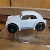 Small Vintage Tonka VW Car Metal And Plastic White #57020-A Made In Mexico Parts