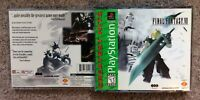 Please Read Only Empty Case Final Fantasy VII 7 (Playstation 1) Greatest Hits