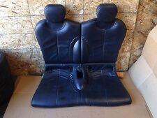 MINI COOPER S SPORT R53 OEM REAR BACK UPPER BOTTOM INTERIOR LEATHER SEAT BLACK