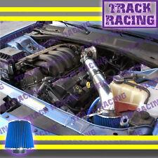Black Blue AIR INTAKE 2P for 05-10 DODGE CHARGER MAGNUM/CHRYSLER 300 2.7L V6