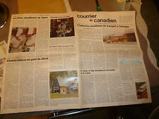 Canada 1975 Canadian mail plane jet 4x4 stol terra bombi track tractor