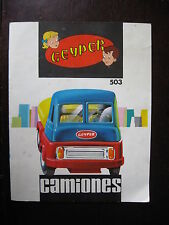 CATALOGUE CAMIONS GEYPER N°503 ESPAGNE 1964