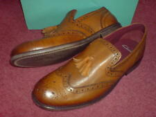 New Clarks  Mens  ** BYFORD  ** TAN BROGUE  LEATHER ** STYLISH **  UK 8 / 8.5
