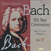 Various : Bach:Mass in b Minor CD