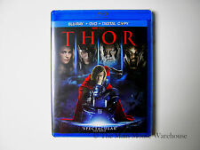 Disney Marvel THOR on Blu Blu-ray DVD Digital Copy Eng French Spanish Portuguese
