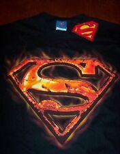 SUPERMAN DC COMICS RED HOT SYMBOL T-Shirt MEDIUM NEW w/ TAG