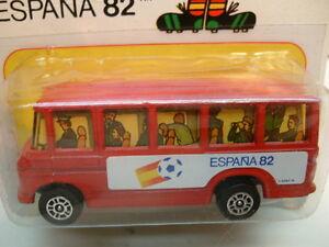 1979 GREAT BRITAIN CORGI METTOY JUNIORS #116 ESPANA 82 WORLD CUP BUS MOC