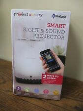 New! Project Nursery - Smart Sight and Sound Projector - White