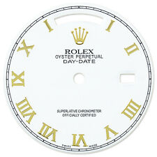 Rolex Mens Day Date President White Color Dial with Roman Numeral Markers